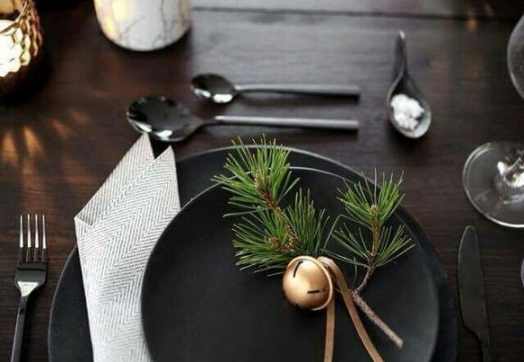 The best table settings for Christmas 2019