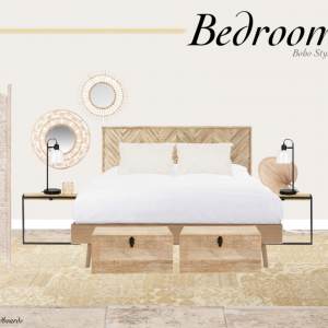 get the look bedroom boho style