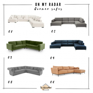 on my radar: corner sofas