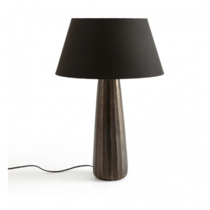 Lotka Engraved Metal Table Lamp