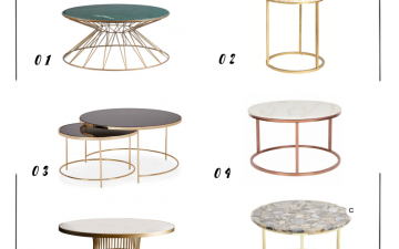 On my radar coffee tables
