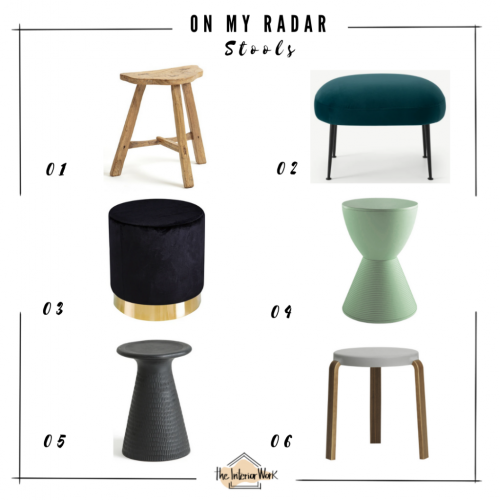 On my radar stools