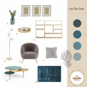 Get the look: modern chic living