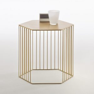 Topim Metal Wire Bedside Table